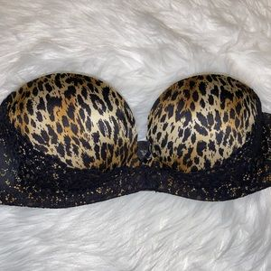 Victoria's Secret Miraculous Padded Strapless 34B